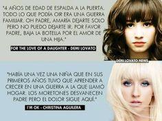 Demi Lovato & Christina Aguilera