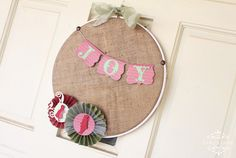 Happily Mother After: 12 Crafty Days of Christmas {Day 5}: Burlap ...