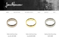 22 JUNE 2012: We launched theringmaker.co.nz, our new website for the Jens Hansen Movie Ring!