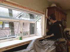 Kitchen Window Shelf for Plants | How To Install a Garden Window | Kitchens: Design Ideas, Budgets ...