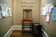 In Thy presence is fulness of joy Vinyl Wall Decal  - War Room - Window Decals - Vintage Signs - Vinyl Wall Decals - Prayer Closet - Prayer by LoveLineSigns on Etsy