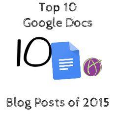 Top 10 Google Docs Posts of 2015
