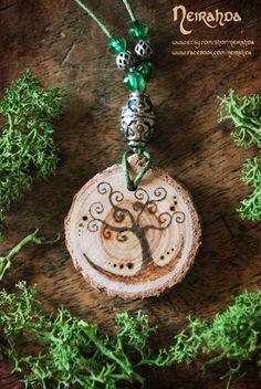 Celtic Tree of Life pendant by Neirahda on Etsy