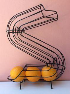 vintage fruit holder from café/bistro SOLD