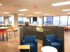 Office Flooring: Convergys from Parterre Flooring. View our extensive collection of professional grade vinyl flooring today! Luxury Vinyl Flooring, Wood Flooring, Floor Design, Lancaster, Space, Table, Offices, Inspiration, Furniture