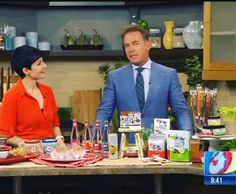 "The @NaturesBandits #love all the #headlines! As long as their wanted posters are drawn accurately that is... We were #honored to be included in a segment of #GoodMorningArizona discussing the ""#Hippest items and #trends from this summers #FancyFoodShow!"" #Specialthanks to @joanie.simon and her family for #loving our #organicsnacks and making sure we got on the #show!"