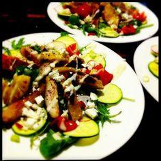 Chicken Schnitzel Salad - really!