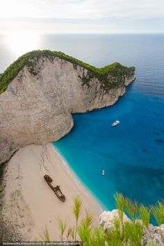 Most Beautiful Pages: Navagio bay