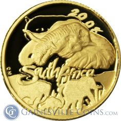 2008 1/10 oz South African 3 Coin Special Proof Gold Set http://www.gainesvillecoins.com/