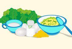 Receitas com verduras e legumes para crianças - Bebê.com.br