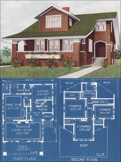 1921 Modern Bungalow Type House