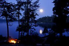 Moon over Minnesota   Flickr - Photo Sharing!