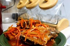Moms Pantry: Marinated Pork Chops (Crock Pot)