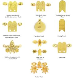 Different Types of Thirumaangalyam / Thaali Designs