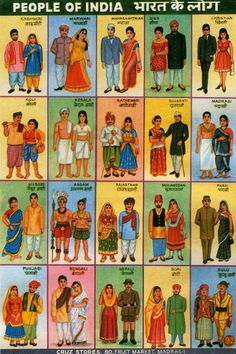 """lametisse: """" indophilia: """" So if you wear a dress you're a Christian ? Who writes this crap ? STOP LABELLING EVERYONE """" Lol 'Mohamedan', this must be At least they put Kashmiris first :)"""" Gente India, Art Indien, History Of India, Indian People, India Culture, Goa India, Vintage India, Indian Textiles, Indian Fabric"""