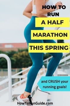 A plan for half marathon success this spring! From winter training tips to a full spring half marathon training plan, get everything you need here. Running Humor, Running Workouts, Running Training, Running Tips, Running Playlists, Song Workouts, Cheer Workouts, Running Songs, Treadmill Workouts