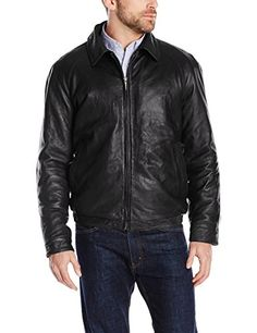 Nautica Men's Lambskin Leather Bomber Jacket, Black, XX-Large Nautica ++You can get best price to buy this with big discount just for you.++