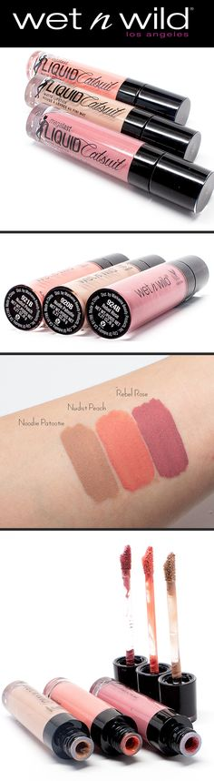 NEW Wet n Wild Megalast Liquid Catsuit Lipsticks