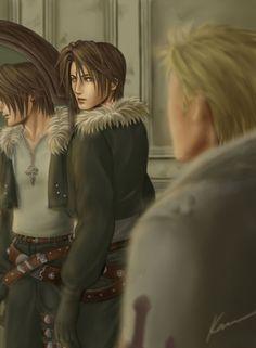 mirror by ~K-DDS - Final Fantasy VIII - Squall / Seifer
