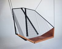 Solo Cello Hanging Chair by les Ateliers Guyon -Design, Seating Cello Chairs, Funky Furniture, Furniture Design, Ecole Design, Muebles Art Deco, Indoor Swing, Swinging Chair, Apartment Interior, My New Room