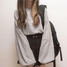 Korean Girl Fashion, Ulzzang Fashion, Asian Fashion, Retro Fashion, Boho Fashion, Queer Fashion, French Fashion, Fashion Wear, Modest Fashion