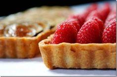 Tarta de raspberry con crema