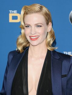 January Jones attends the 67th Annual Directors Guild Of America Awards at the Hyatt Regency Century Plaza on February 7 2015 in Century City...