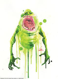 Something strange in the neighborhood: 'Ghostbusters' fan art invades New York City | The Verge