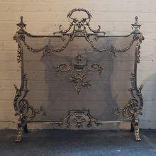 Old English Fireplace Screen Peter Nixon Firescreen S Etc Ect