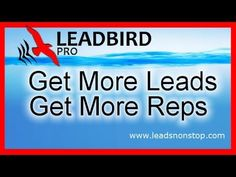 How to generate leads is a must learn for all Reps or you will be out of business in short time.......... Click below for more info:........... ==> http://leadsnonstop.com