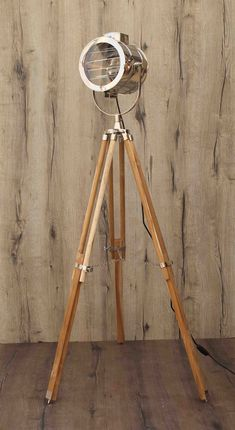 Wood Floor Lamp, Metal Floor, Cool Lamps, Unique Lamps, Vintage Shutters, Standard Lamps, Handmade Lamps, Tripod Lamp, Wood Colors