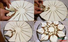 Xmas Food, Christmas Baking, Bread Shaping, Bread Art, Braided Bread, Torte Cake, Pastry Art, Baking And Pastry, Christmas Appetizers