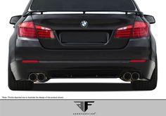 2011-2013 BMW 5 Series F10 4DR AF-2 Rear Diffuser ( GFK ) - 1 Piece