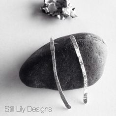 New 'Twig' line, simple beauty to adorn any outfit...handmade Sterling silver...www.stilllily.etsy.com Metal Jewellery, Jewelry, Handmade Sterling Silver, Lily, Outfit, My Style, Simple, Inspiration, Beauty