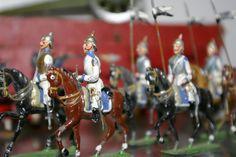 Heyde figures on horseback size 2