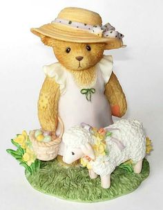 Heidi´s Cherished Teddies Galerie: APRIL - I Couldn't Bear To Be Without Ewe (107062)