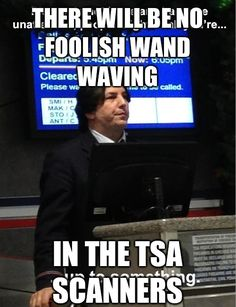 OMG Airport Snape!