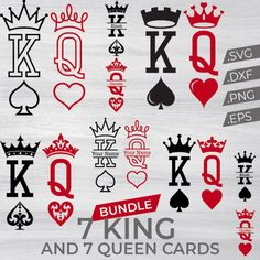 King and Queen cards King Crown Tattoo, King Queen Tattoo, Crown Tattoo Design, Romantic Couples Tattoos, Couple Tattoos Love, Crown Couple Tattoo, Couples Tattoo Designs, Unique Tattoos, Small Tattoos