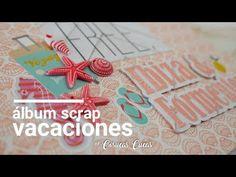 Álbum Scrap Vacaciones - YouTube Mini Scrapbook Albums, Mini Albums, Crochet Necklace, Scrapbooking, Instagram, Youtube, Vacations, Viajes, Crochet Collar