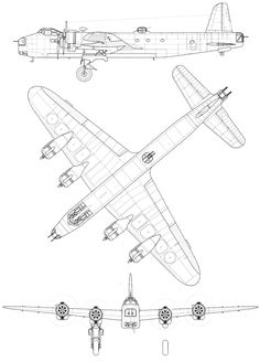 Plane Drawing, Stirling, Cutaway, Aircraft, Drawings, Blue Prints, Airplanes, Wwii, Aviation
