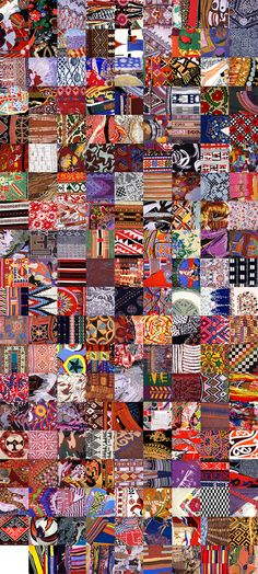 barbara Broekman symbolises every nationality (179!!)living in Amsterdam through a piece of carpet