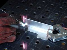 How to Weld - TIG Welding: 11 Steps (with Pictures) Welding Jobs, Mig Welding, Welding Art, Welding Shop, Welding Ideas, History Of Welding, Types Of Welding, Welding Gloves, Welding Training