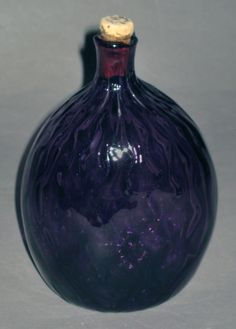 Glass - Flask (Pocket bottle) - Search the Collection - Winterthur Museum