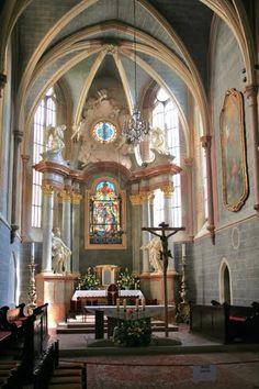 Fransiscan Church Interior, Bratislava