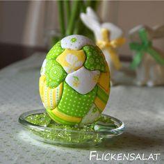 Patchwork-Eier, Ostereier