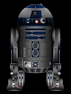 Star Wars R2-D2 Art Print by Nathan Owens ;-)~❤~