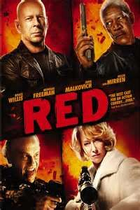 RED - I loved the senior action :)
