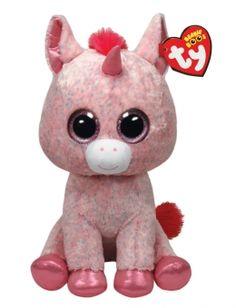Confetti Unicorn 16 Inch Beanie Boo