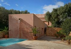 Neuendorf villa, Majorca Spain (1987-89) | John Pawson and Claudio Silvestrin