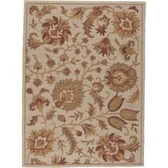Nourison Crochet Brick 5 ft. x 7 ft. Area Rug-122926 at The Home Depot
